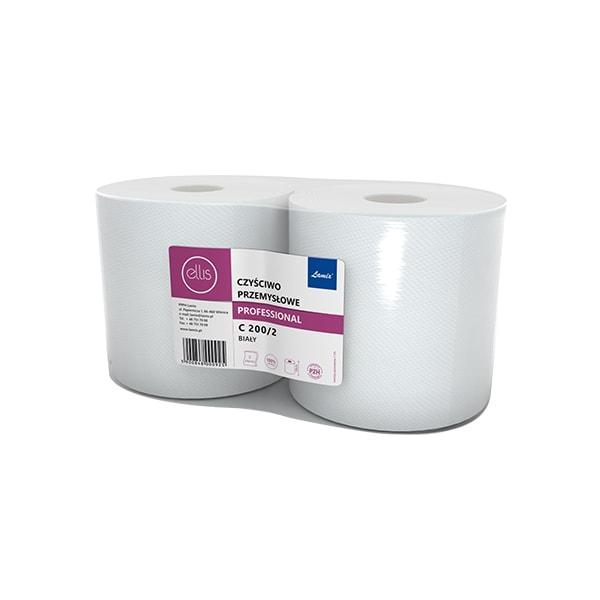 Czyściwo białe 2 warstwowe celuloza Fi28 – c200m