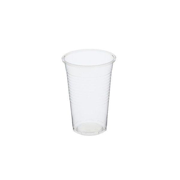kubek bezbarwny 200ml plastikowy