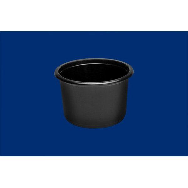 pojemnik okragły czarny 450 ml