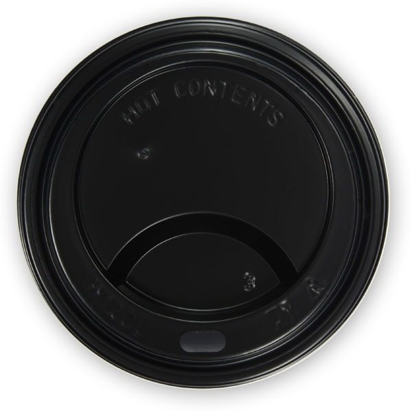 przykrywka do kubka do kawy czarna