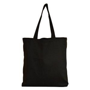 torba bawełna czarna