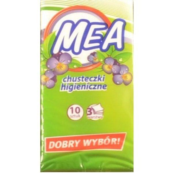 chusteczki higieniczne A10 mea