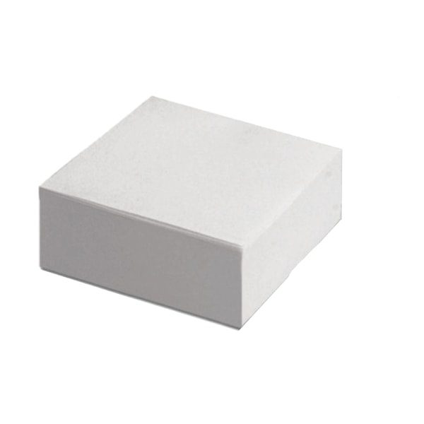 kostka biurowa biała