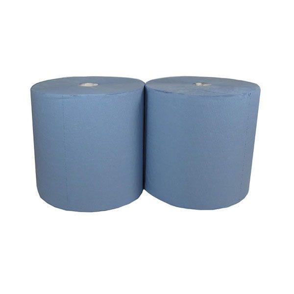 ręcznik papierowy niebieski makulatura 2 warst