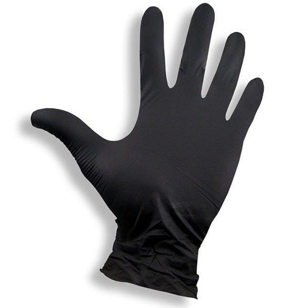rękawice nitrylowe czarne